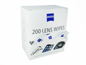 Zeiss Lens Cleaning Wipes -Pack of 200  Lens Cleaner