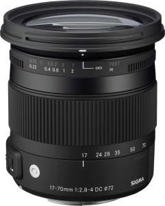 Sigma 17 - 70 mm f/2.8 - 4 DC Macro OS HSM Contemporary Lens for Canon Cameras  Lens