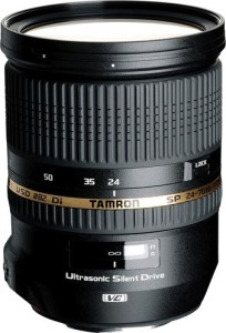 Tamron SP 24 - 70 mm F/2.8 Di VC USD for Sony  Lens
