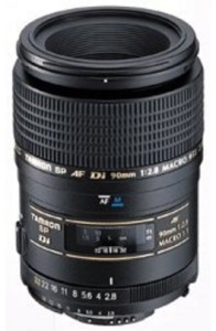 Tamron SP AF 90 mm F/2.8 Di 1:1 Macro for Canon Digital SLR  Lens
