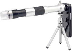 Souq telescope zoom camera lens with mini tripod for iphone