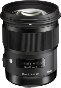 Sigma 50 mm f/1.4 DG HSM Art Lens for Canon Cameras  Lens