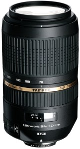 Tamron SP 70 -300 mm F/4-5-6 Di VC USD for Canon Digital SLR  Lens