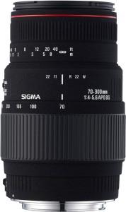 Sigma 70 - 300 mm F4-5.6 APO DG Macro Motorized for Canon Digtital SLR  Lens