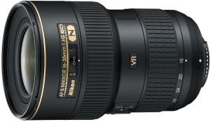 Nikon AF-S NIKKOR 16 - 35 mm f/4G ED VR  Lens