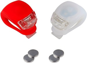 Shrih Water Resistant Bicycle LED Front Rear Light Combo