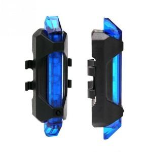 Shrih Bike Bicycle Tail Light USB Rechargeable Safe Lamp LED Rear Break Light