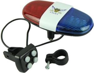 Letdooo Police Type Siren LED Rear Break Light
