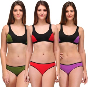 a60b7aed36cc5 Urbaano Sports Lingerie Set Best Price in India