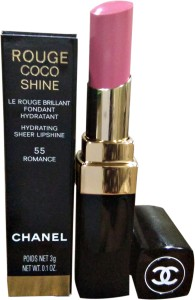 Chanel Rouge Coco Shine Lipstick 3 G Romance 55 Best Price In India
