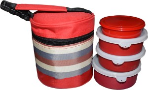 TG Shoppers Soft Plus 4 Containers Lunch Box