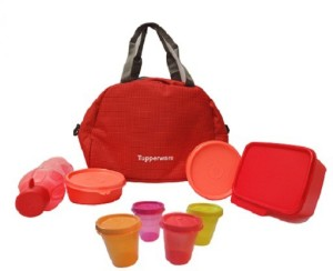 Tupperware Sling-A-Bling 8 Containers Lunch Box