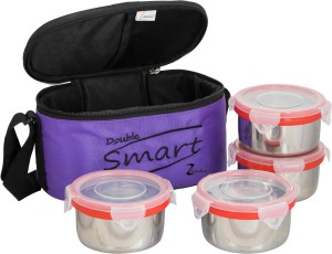 Zanelux smart d 4 Containers Lunch Box