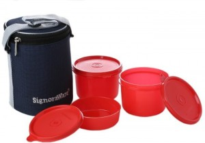 Signoraware M516 3 Containers Lunch Box