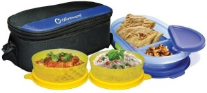 Oliveware Happy Day 3 Containers Lunch Box