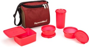 Signoraware 562 Best Lunch Innovative 4 Containers Lunch Box