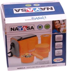 Nayasa Nebula 3 Containers Lunch Box