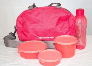 Tupperware SLING-A-BLING 4 Containers Lunch Box