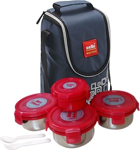 Cello KUALB15 4 Containers Lunch Box