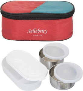 Sellebrity Classic 2 Containers Lunch Box