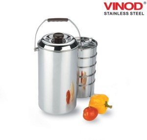 Vinod Steel Vsdht5c 5 Containers Lunch Box Best Price In India