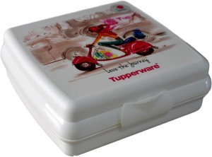 Tupperware Miss T Sandwich Keeper (320ml) 1 Containers Lunch Box