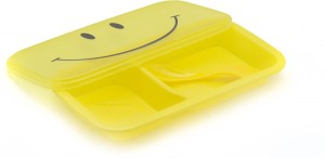 Pratha smiley 1 Containers Lunch Box