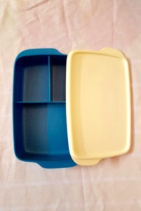 Tupperware Big Funmeal 1 Containers Lunch Box