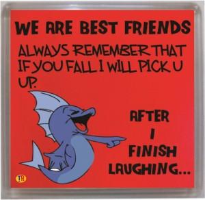 Thoughtroad Best Friends Fridge Magnet