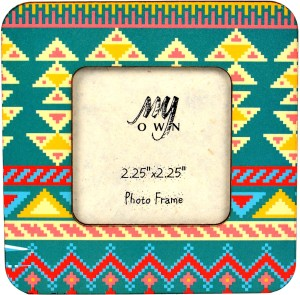 My Own Aztec D Fridge Magnet
