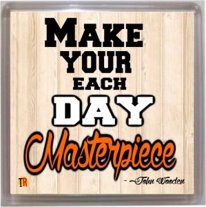 Thoughtroad Each Day Masterpiece Door Magnet, Fridge Magnet