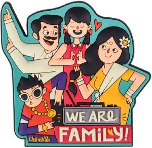 Chumbak Family Dance Fridge Magnet