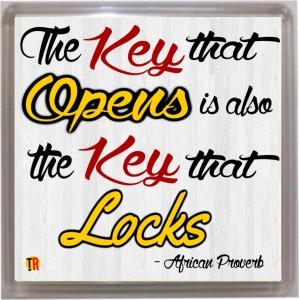 Thoughtroad Key That Opens Door Magnet, Fridge Magnet