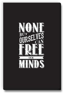Seven Rays None But Ourselves Can Free Our Minds Fridge Magnet