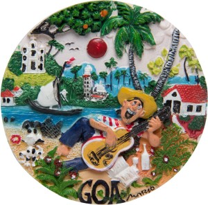 Temple Trees Goa Fridge Magnet