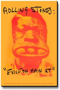 Bravado Rolling Stones Exile On Main Fridge Magnet, Door Magnet