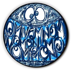 Seven Rays Omnom Omnom Fridge Magnet
