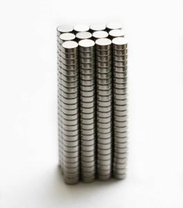 TechtoneMagnetics 4mm x 1.5mm Neodymium magnets Rare Earth Disc Multipurpose Office Magnets