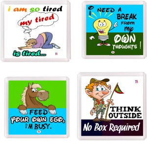 Thoughtroad Thought Process Fridge Magnet