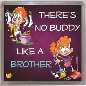 Thoughtroad Brother Buddy Door Magnet, Fridge Magnet