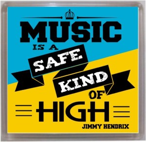 Thoughtroad Music Is A Safe High Fridge Magnet
