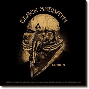 Bravado Back Sabbath Mask Fridge Magnet, Door Magnet