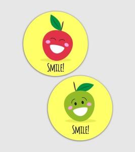 Lovely Collection Smile Fridge Magnet