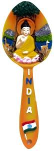 krishivcreation buddha spoon Fridge Magnet