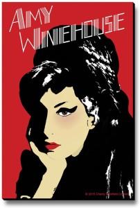 Bravado Amy Winehouse Fridge Magnet, Door Magnet