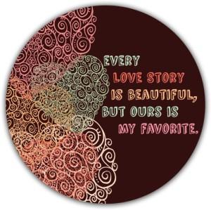 Lovely Collection Love story Fridge Magnet