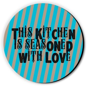 Seven Rays This Kitchen is Seasoned With Love Fridge Magnet