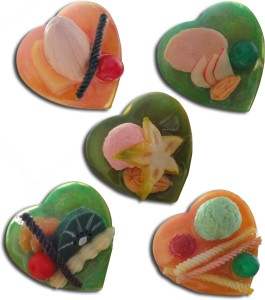 Tiedribbons Exclusive_decorative _ Irresistible Set Of Five Fridge Magnet