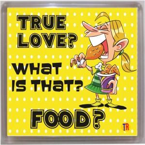 Thoughtroad True Love Food Door Magnet, Fridge Magnet