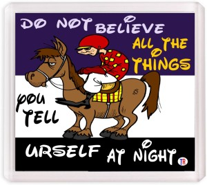Thoughtroad Do Not Believe Fridge Magnet